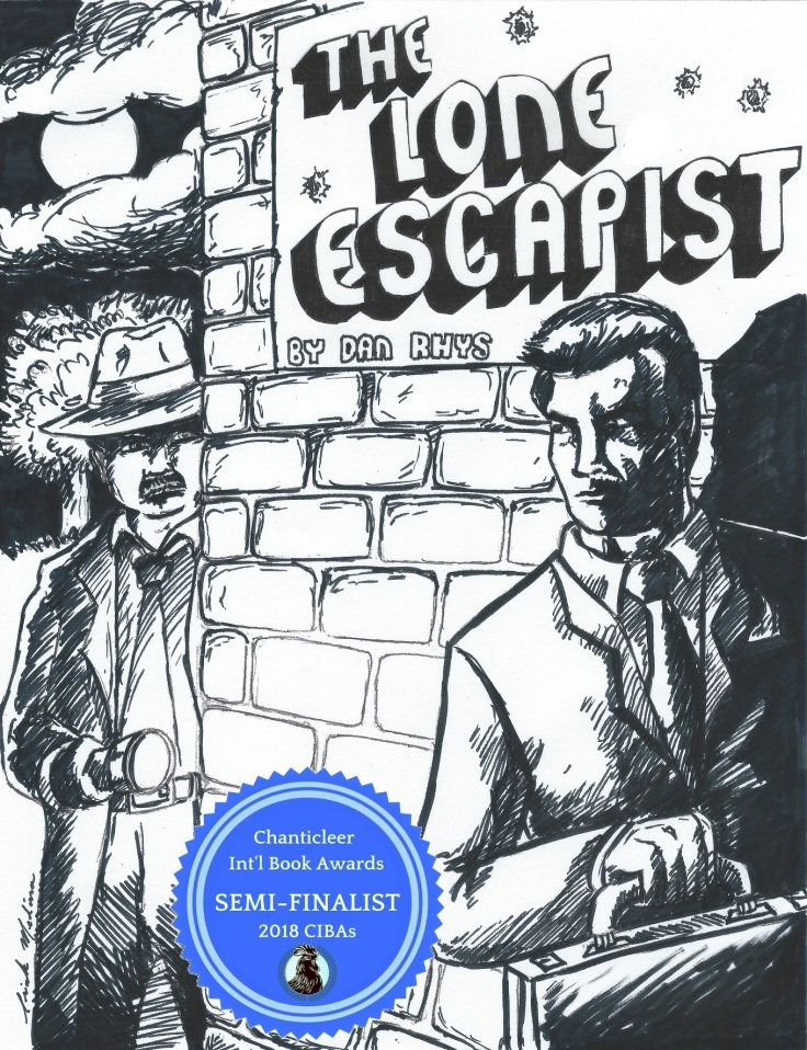 The Lone Escapist (1st Illustration) - Copy - Copy